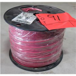 Sealed Spool Wire #12 Red Wire, 500 Ft. Spool