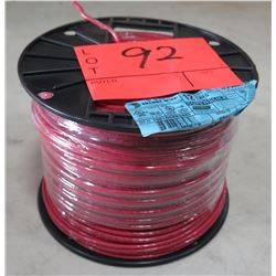 Sealed Spool of Encore Wire #12 Red Wire, 500 Ft. Spool