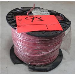Sealed Spool #12 Red Wire, 500 Ft. Spool