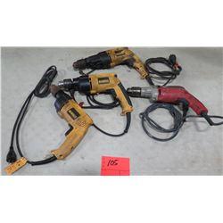 Qty 4 Drills