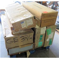 Contents of Pallet: Cuttler-Hammer, GE Panel Board Enclosures, etc