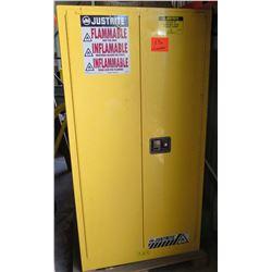 Justite EX Flammable Liquid Storage Cabinet w/Contents
