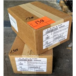 2 Boxes Ironridge XR100 Bonded Splice (20 in each box, 40 total qty)