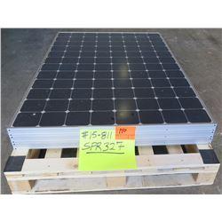 Qty 3 SunPower 327W Solar PV Panels