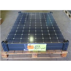 Qty 3 SunPower 320W Solar PV Panels