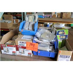 Misc. Electrical Supplies: Outlets, Covers, etc