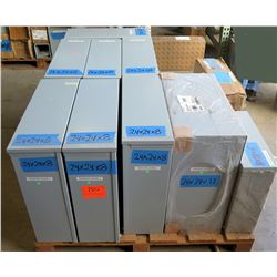 Contents of Pallet: Electrical Boxes, etc