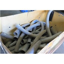 Large Crate with 3-4  EMT and PVC Fittings, etc
