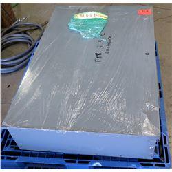 Square D 3R N-12 Electrical Box Enclosure