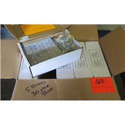 5 Boxes S-5-S Clamps (30 in each box, 150 total qty)