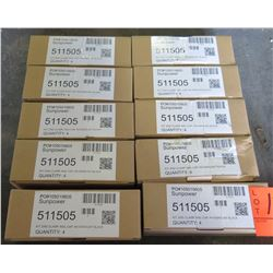 10 Boxes SunPower 511505 Invisimount PV Mounting System Clamp 105019805 (each box has 4, total 40 qt