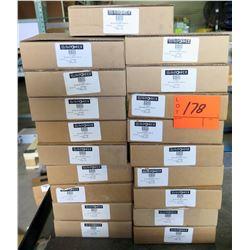 19 Boxes SunPower 513396 Solar Mount End Caps 302025D (each box has 20, total 380 qty)