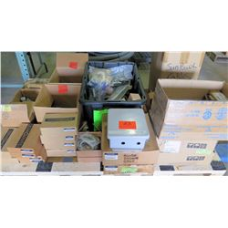 Contents of Pallet: SunPower Monitor Enclosures, Cables, Accessory Kits, etc