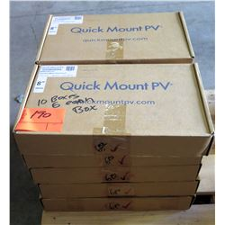 10 Boxes Quick Mount PV CQMQR-CP40.8 Clamp Assembly (6 in each box, 60 total qty)