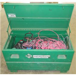 Greenlee Job Box w/ Scrap Wire