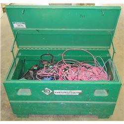 Greenlee Job Box w/ Scrap Wire