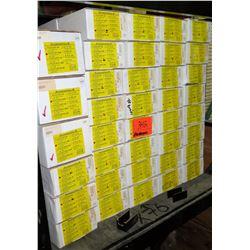 76 Boxes of A-EZCAP-48 End Caps, etc