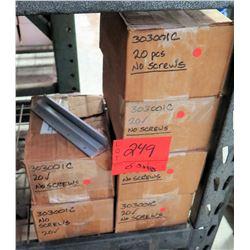 6 Boxes of Unirac 303001C units (20 in each box, 120 total qty)