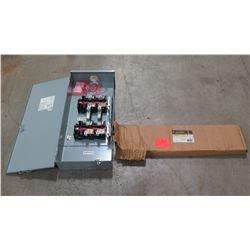 GE Spectral Series Circuit Breaker Filler Plate Kit & Transfer Switch