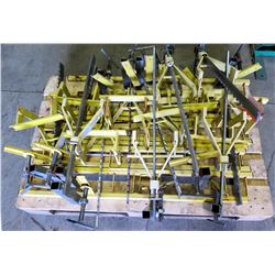Contents of Pallet: Safety Brackets