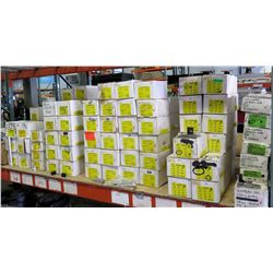 214 Boxes of Solar Products Hardware: End Clamps, Fast Jacks, Clamps, etc