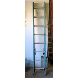Blue 16-Foot Extension Ladder