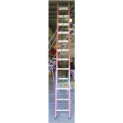 Orange Louisville 24-Foot Extension Ladder