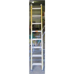 Yellow 16-Foot Extension Ladder
