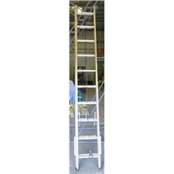 Yellow Louisville 20-Foot Extension Ladder