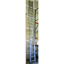 Silver 40-Foot Extension Ladder