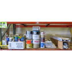 Misc. Spray Paint, Light Bulbs, Chemicals, etc