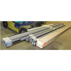 Multiple Bundles Misc Length Framing Rails & SunPower Rail Invismount Extrusion