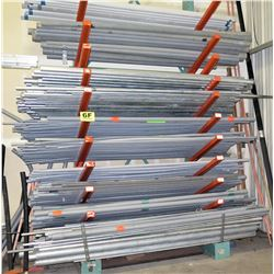 All Contents of Rack: Plastic & Metal Conduit, Misc Size (rack not included)