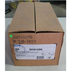 Eaton Heavy Duty Safety Switch 30A in Box