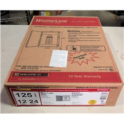 Square D Homeline Outdoor Load Center Main Lugs Only 125A