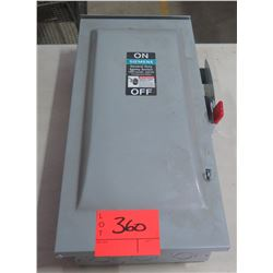 Siemens Non Fusible General Duty Safety Switch 100A
