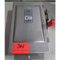 Siemens Non Fusible General Duty Safety Switch 50A