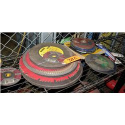 Multiple Grinding Wheels: DeWalt, Flexovit, Norton, etc