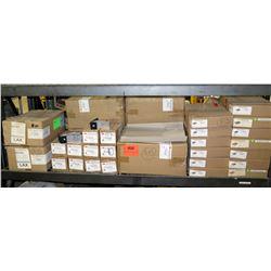 Multiple Boxes Ironridge Conduit Mount Kits (4pcs), Tile Replacement Flashing (20pcs) etc
