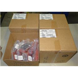 Qty 4 Boxes Ironridge End Cap Kits (25 bags/box, 10 sets/bag=1000 sets total)