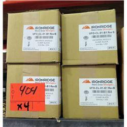 Qty 4 Boxes Ironridge Universal Module Clamp (200 per box=800 total)