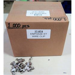 Box EnPhase ET Wire Clips (1000 pcs)