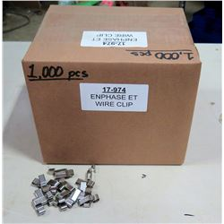 Box EnPhase ET Wire Clips (1000 pcs)
