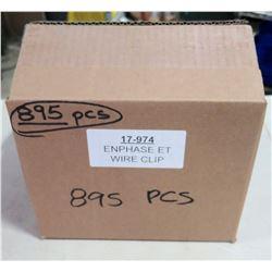 Box EnPhase ET Wire Clips (895 pcs)