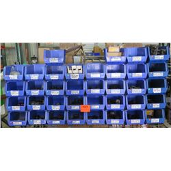 Multiple Blue Bins Connectors, Mech Lugs, Lay-In Lug Assembly, Ground Bushings, etc