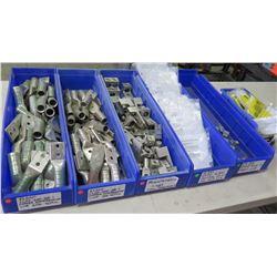5 Blue Bins Ilsco & Misc Copper Compression Lugs, Eaton Neutral Lug Kits, etc