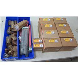 8 Boxes Ilsco Clearsplice Multi-Taps (3/box=24 total), 2 Box Conductors, Loose Lugs