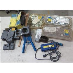 Erico Cadweld Cable Mold, Cadweld Plus Control Unit, 150 Plus Welding Material, etc