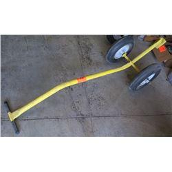 Yellow Metal 2-Wheel Dolly