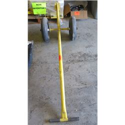 Yellow Metal 2-Wheel Dolly